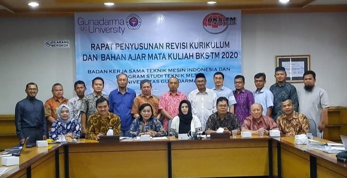 Rapat Koordinasi Tim Kurikulum Inti BKS-TM Tahun 2020