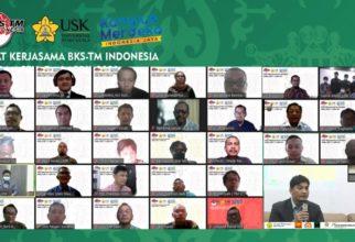 Badan Kerja Sama Teknik Mesin (BKS-TM) Indonesia Menggelar Rapat Kerja Tahun 2021