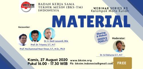Webinar Series #3 Material (Sosialisasi Draft Kurikulum Inti & Bahan Ajar BKS-TM)