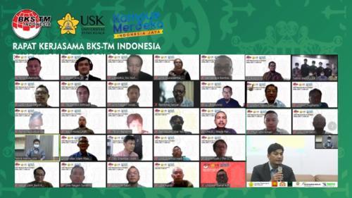 Rapat Kerja BKS-TM 2021