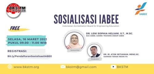 Webinar Sosialisasi IABEE