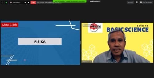 Webinar Series #8 Basic Science (Sosialisasi Draft Kurikulum Inti & Bahan Ajar BKS-TM)